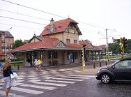 Tramstation in De Haan